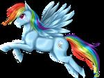 The great Rainbow Dash