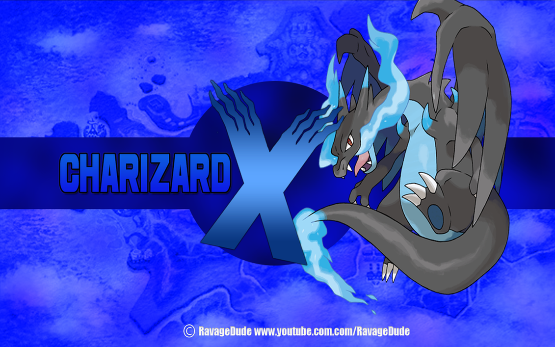 Mega Charizard X Wallpaper By RavageDude