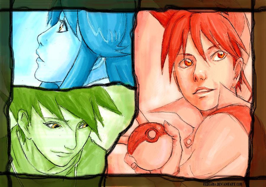 RedGreenBlue2-Pokemon special by redsama