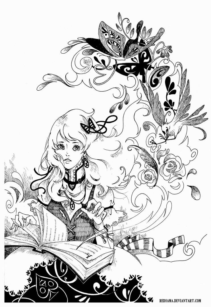 Magic Book Drawing
