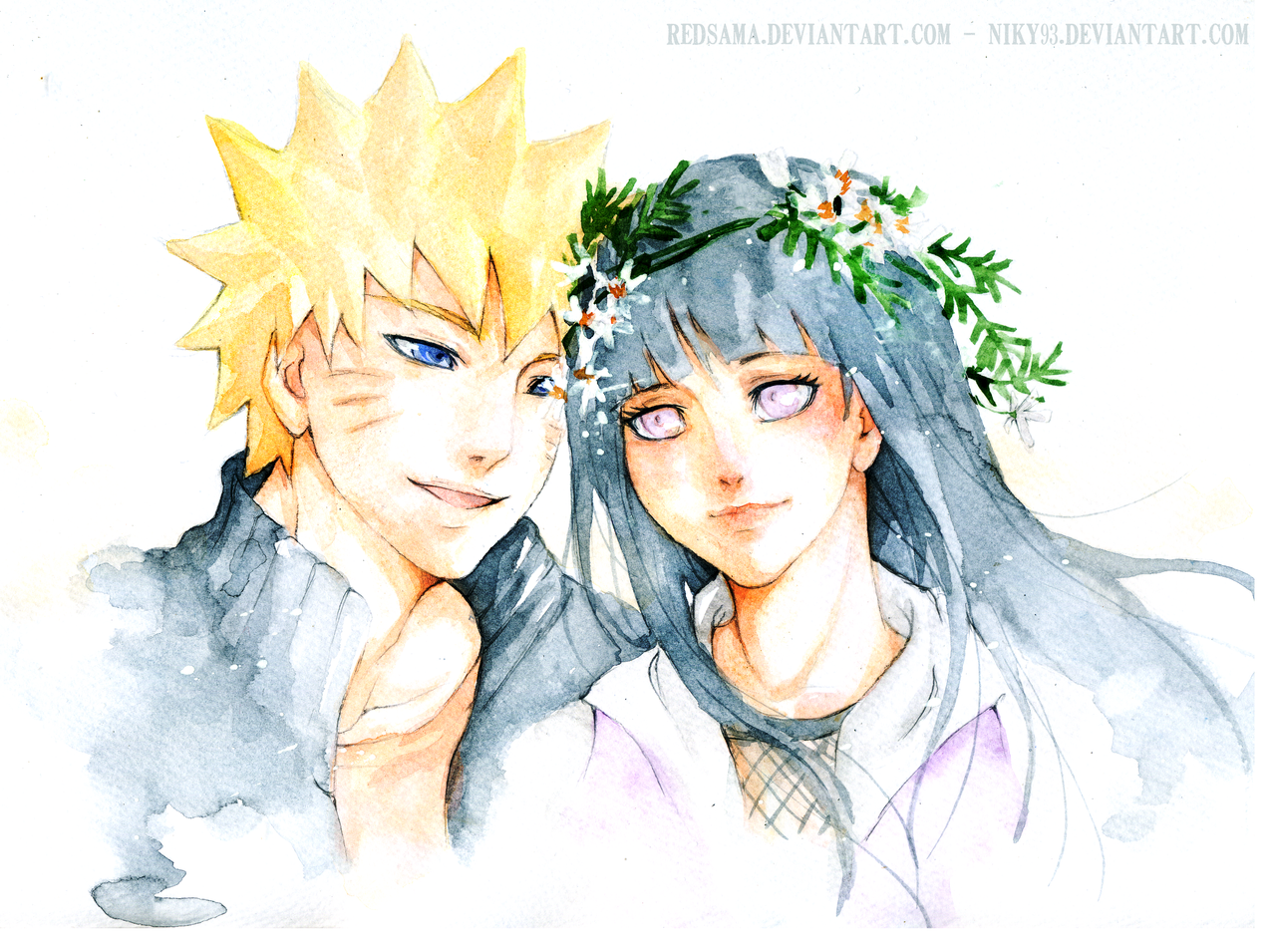 Commission - NaruHina by redsama on DeviantArt