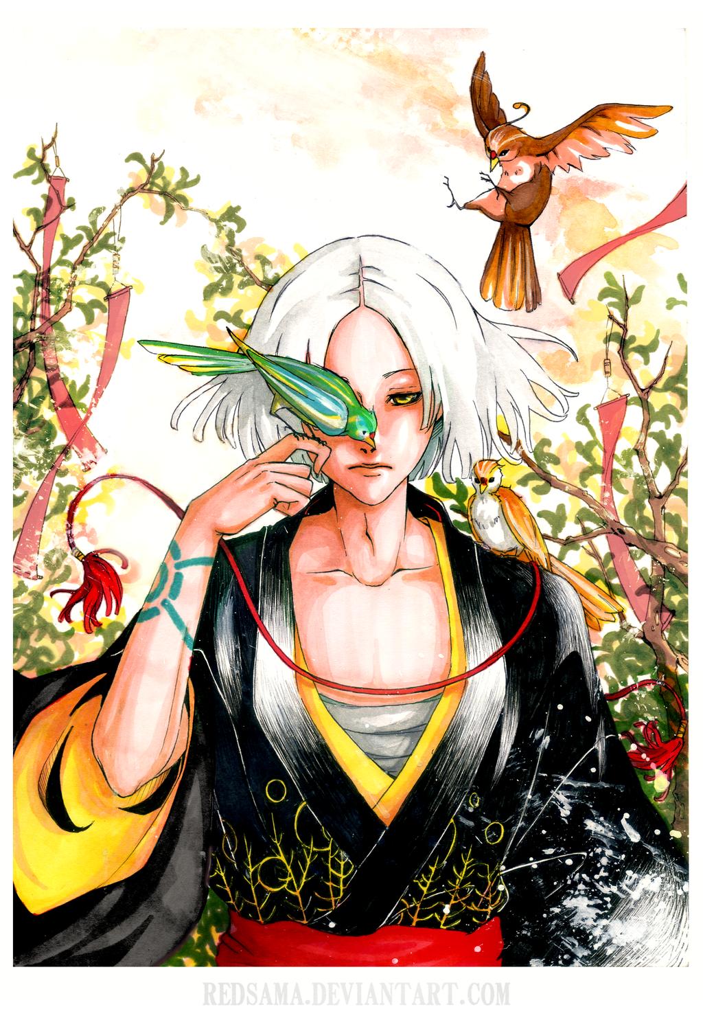 Bird whisperer by redsama