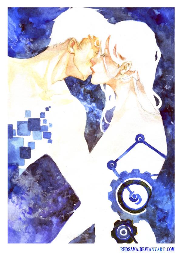 Kiss by redsama