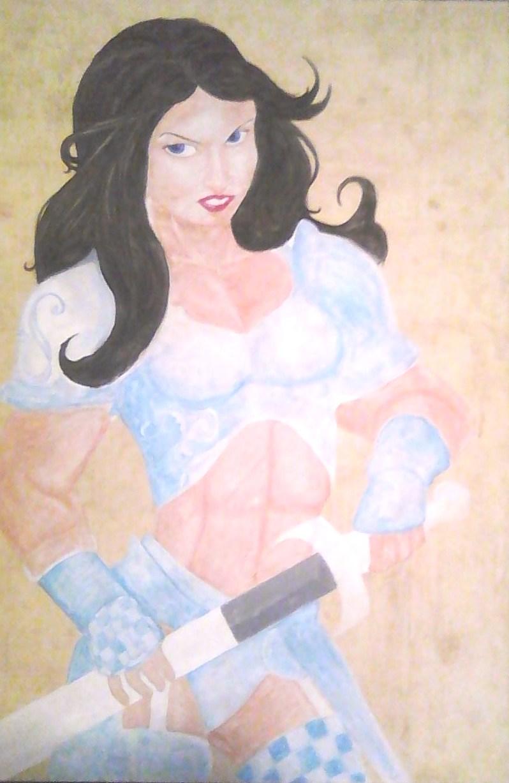white queen work in progress by krypton619