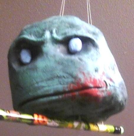 Zombie head by krypton619