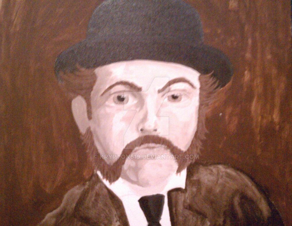 Mr Hyde self portrait by krypton619
