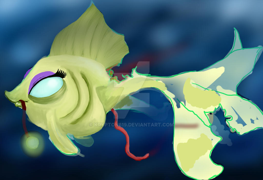 zombiefish GF color WIP by krypton619