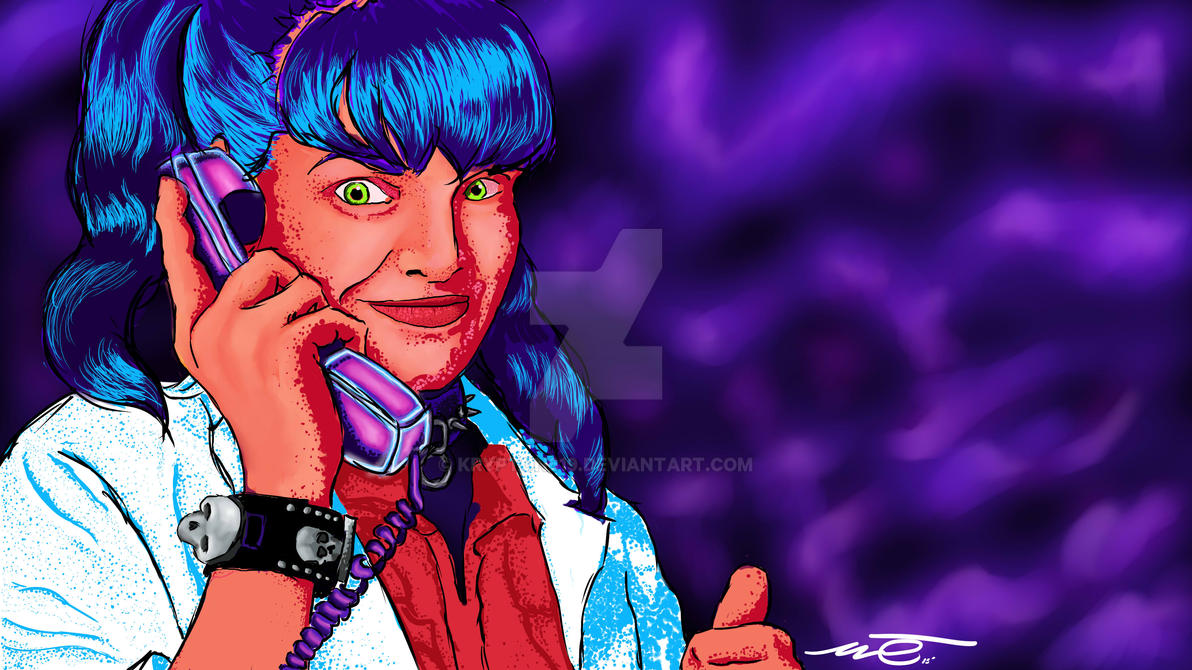 Black Light Abby Sciuto by krypton619