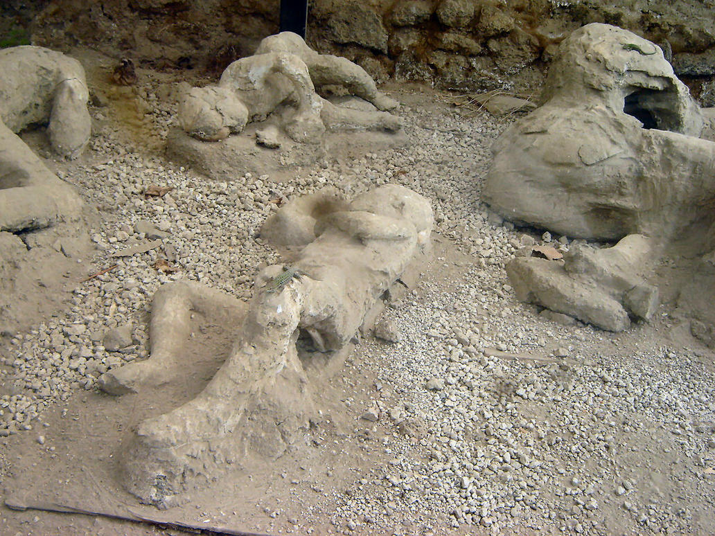 bodies in pompeii by lauraotms on deviantart