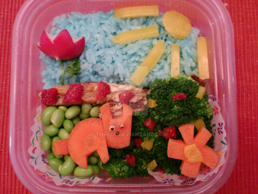 Bento for Contest by Threek