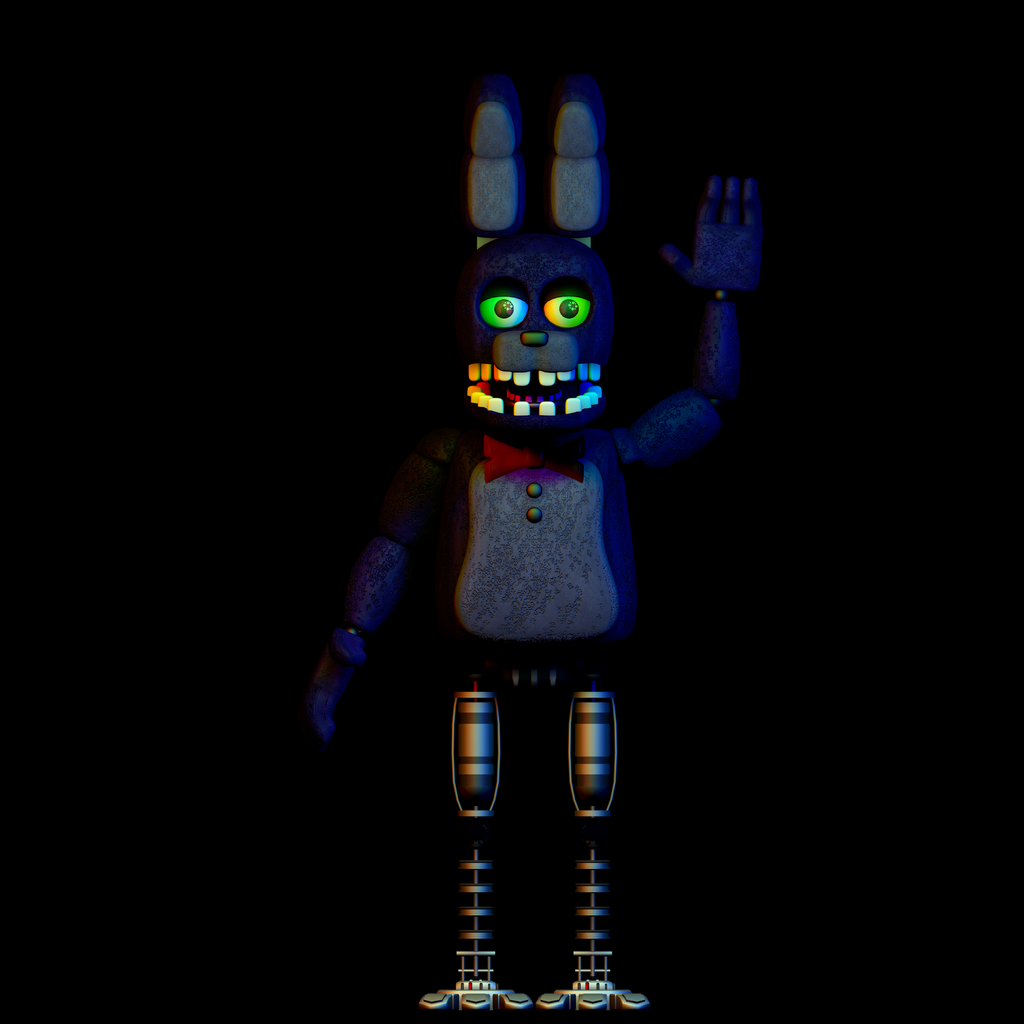 Unwithered Bonnie (WIP) By LanceGaming64 On DeviantArt