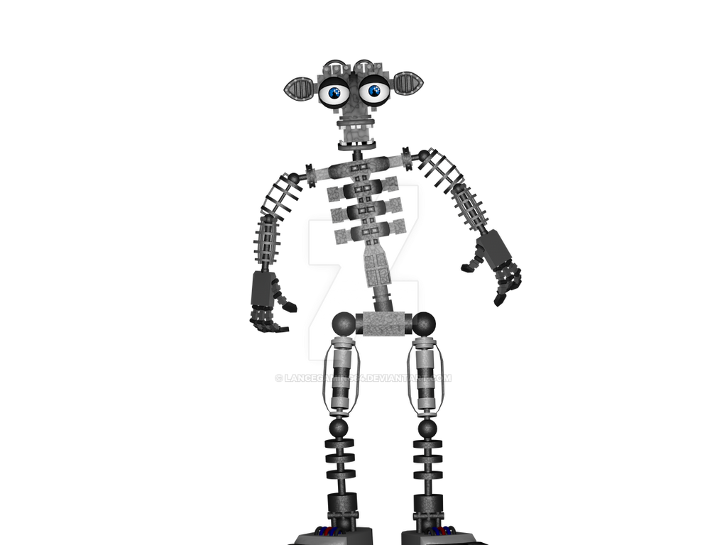 Fnaf 2 Endo By Lancegaming64 On Deviantart