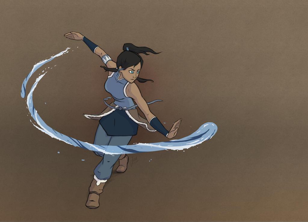 Avatar Korra by Nuriet