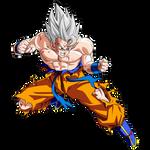 Goku SSJ White Render