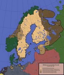 Zdobycze terytorialne Szwecji 1560-1697 ahistoric