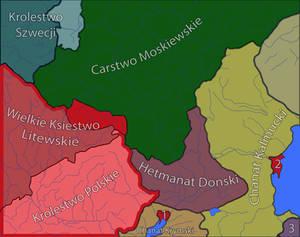 Polish Lithuanian Commonwealth in 1706 (ahistoric)