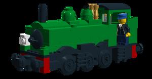 Lego Duck The Great Westren Engine (Buffer 2) V2