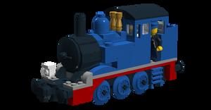 Lego Thomas The Tank Engine (Buffer 2) V3