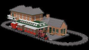 LEGO Tywyn Wharf Station (LEGO SET) V1