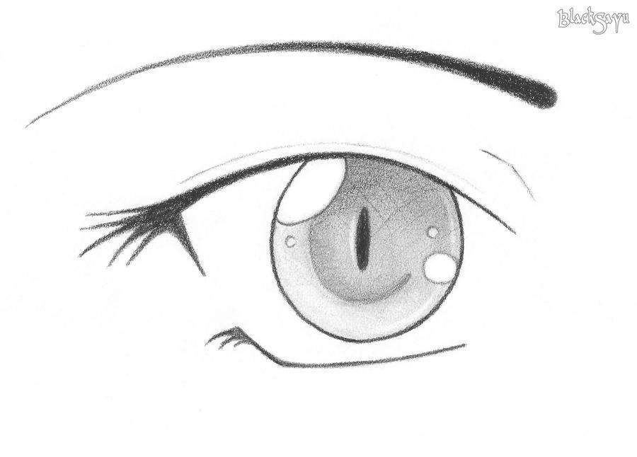 Line Drawing Eye : Eye drawing training ii by ultranoire on deviantart