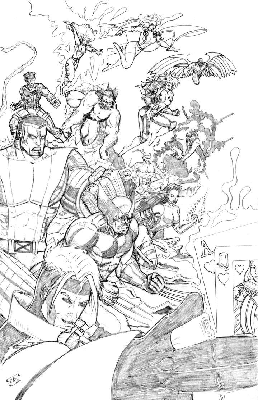My Favorite X-men by thEbrEEze