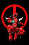 Deadpool Print Logo Version