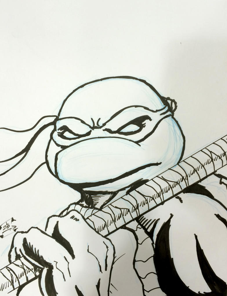 Donatello by thEbrEEze