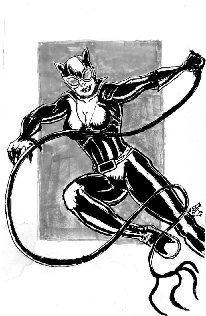 Catwoman--Week 8 by thEbrEEze