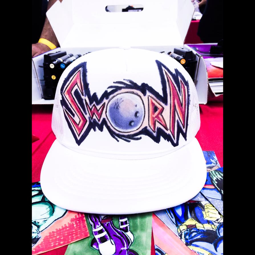 Sworn - Custom hat by thEbrEEze