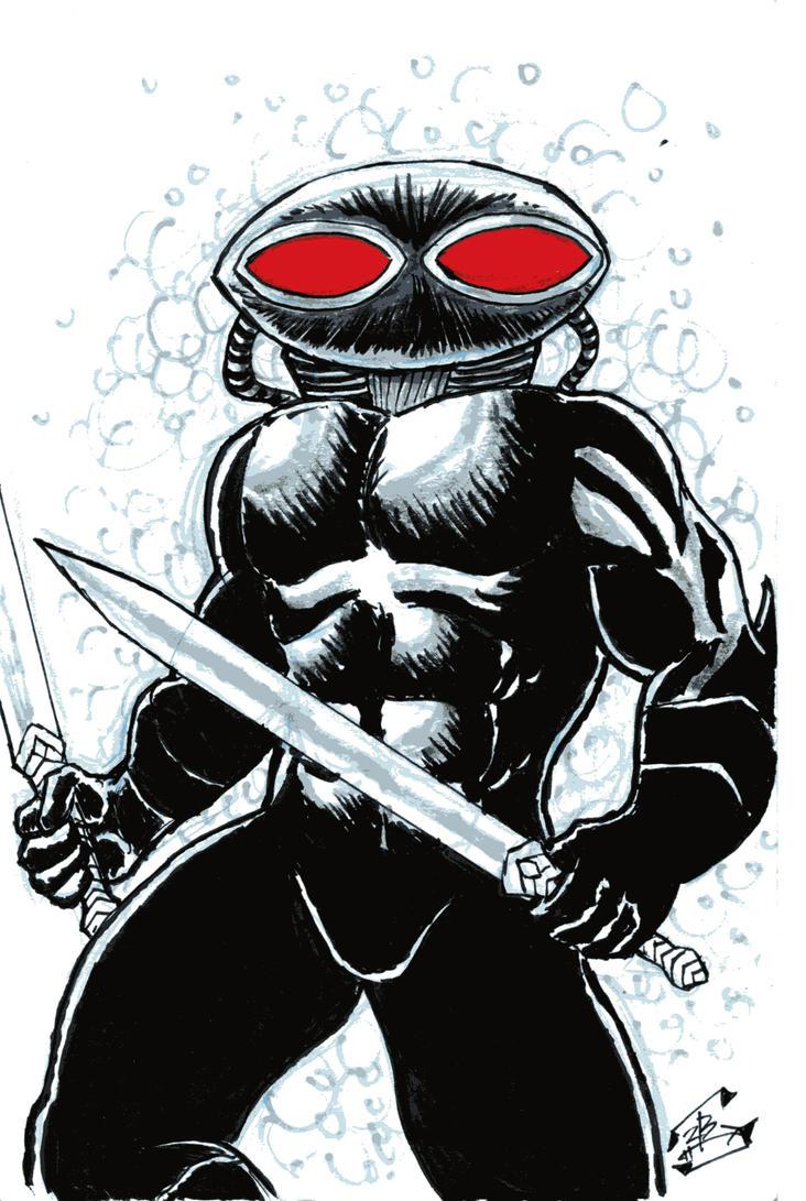 Black Manta--Week 14 by thEbrEEze