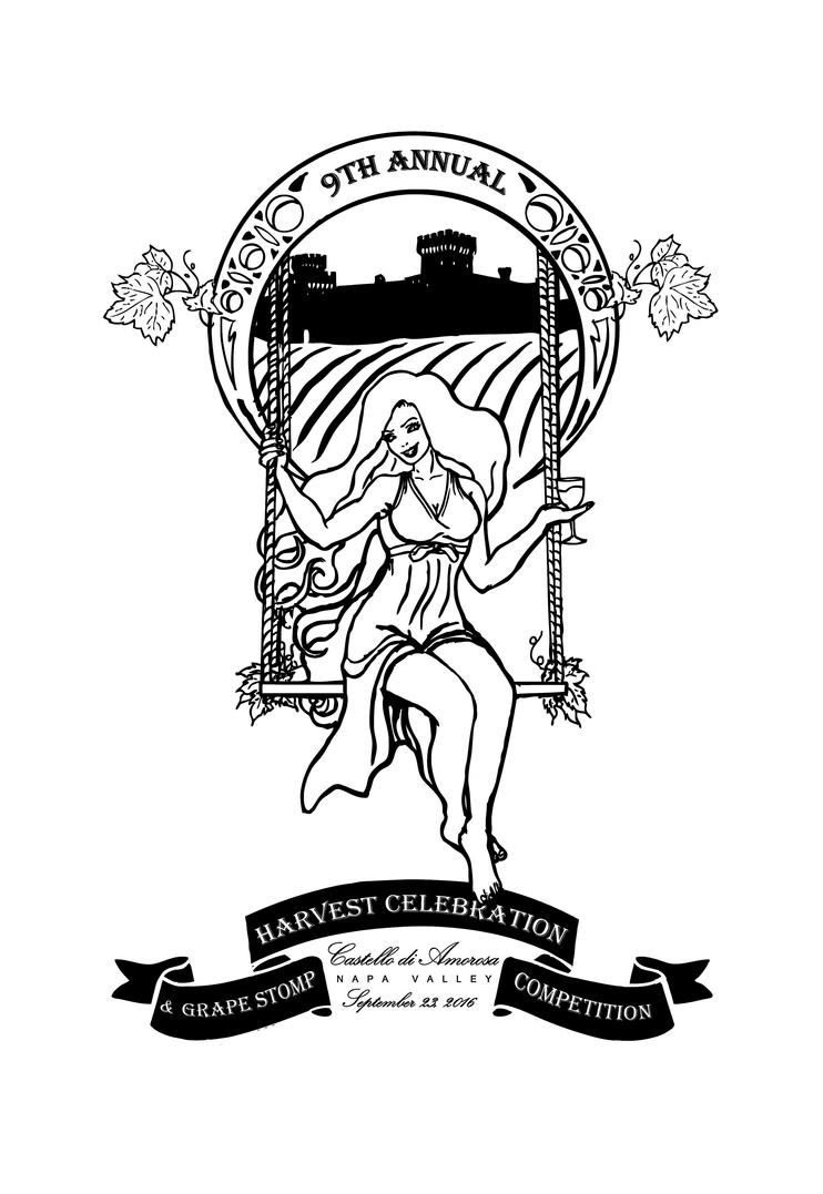 Harvest Festival Art Nouveau Style Design by thEbrEEze