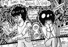 The Things This Ragdoll Deserves by AliRose-Art