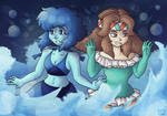 Water Girls by AliRose-Art