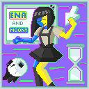 ENA and Moony pixel