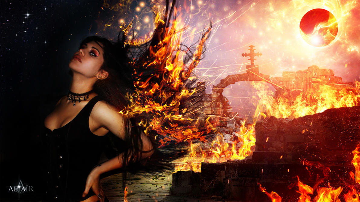 Fire Walk With Her by Altair-E