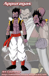 DBZ Fusion: Appule and Paragus