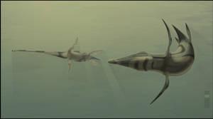 Kronosaurus and Woolungosaurus