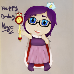 Ngu's Belated B-Day drawing