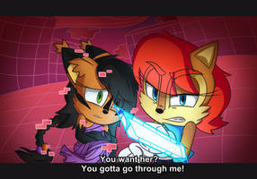 You Have To Go Through Me by SilverFireFox10
