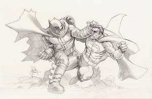 Dark Knight vs Superman by RandyGreen