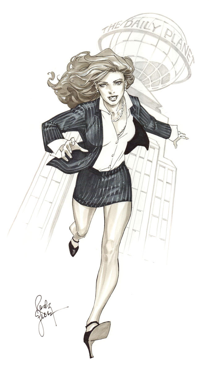 Lois Lane - Comicon by RandyGreen