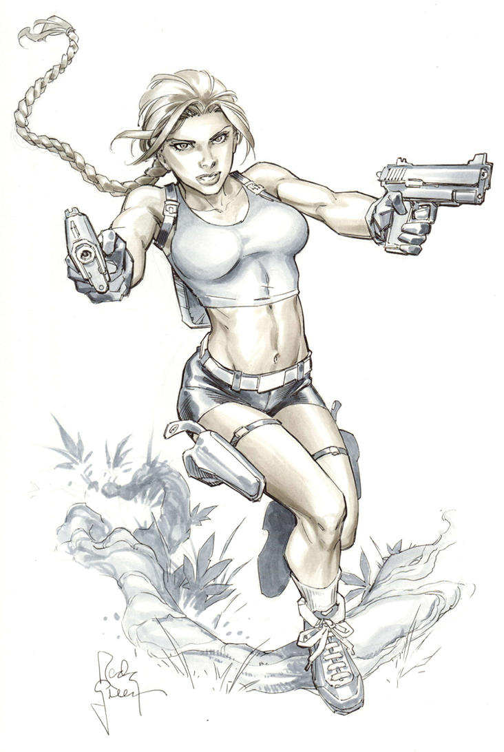 Lara Croft from VACC by RandyGreen