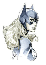 Batgirl from DandD by RandyGreen