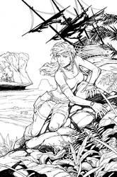 Tomb Raider 15th Anniversary by RandyGreen