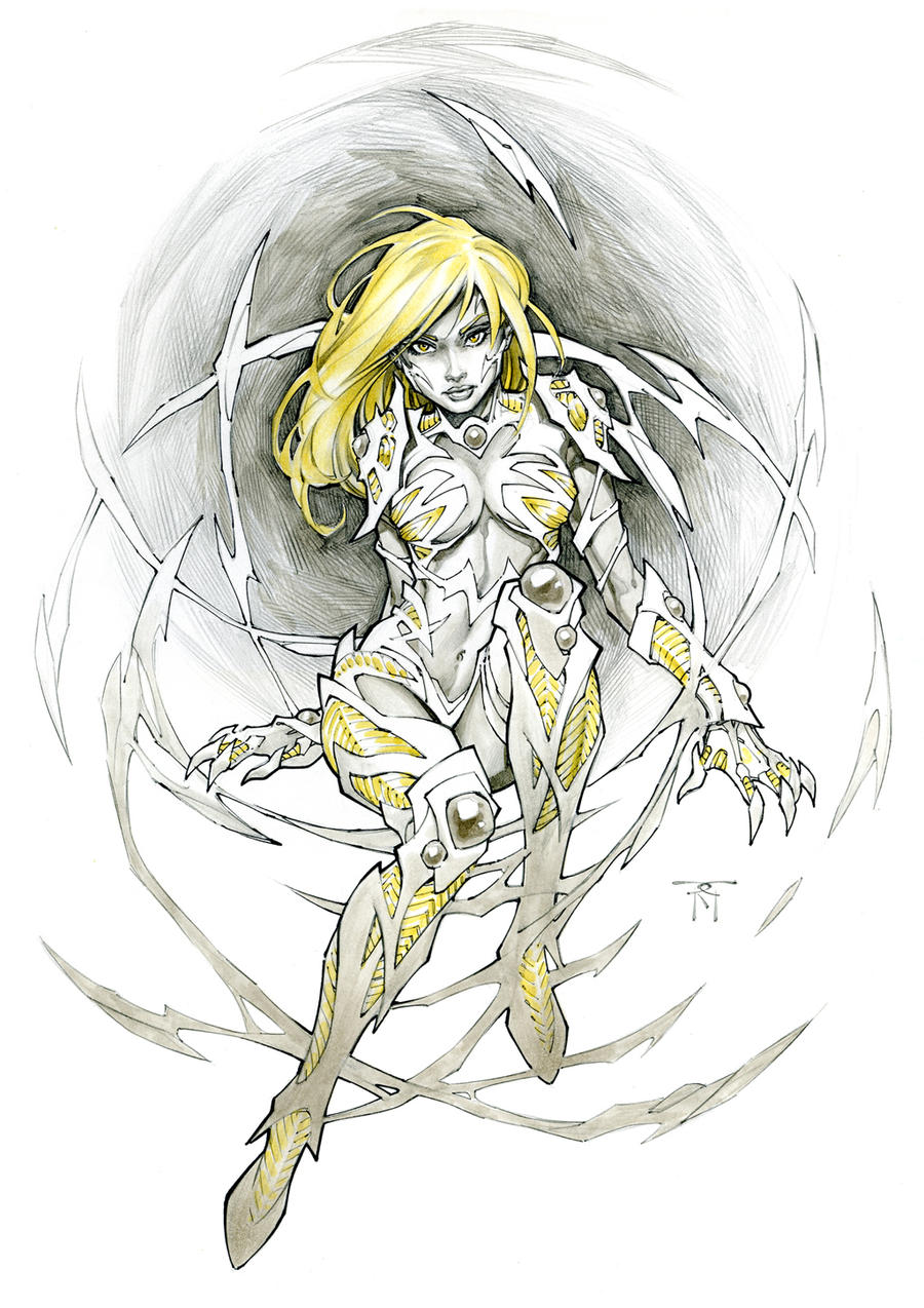 Danielle Witchblade by RandyGreen