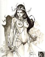 Dejah Thoris Sketch