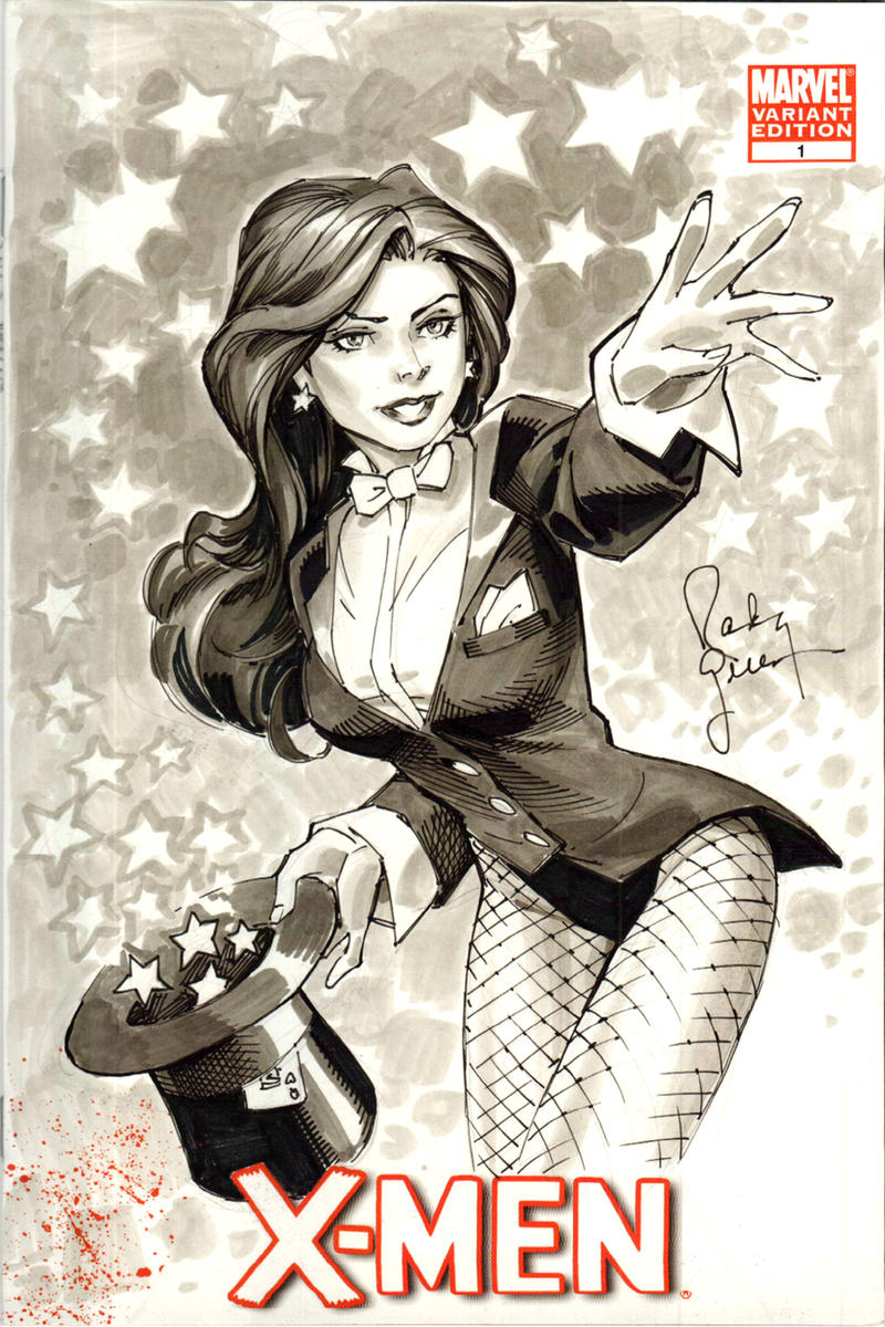 Baltimore Zatanna Sketch by RandyGreen