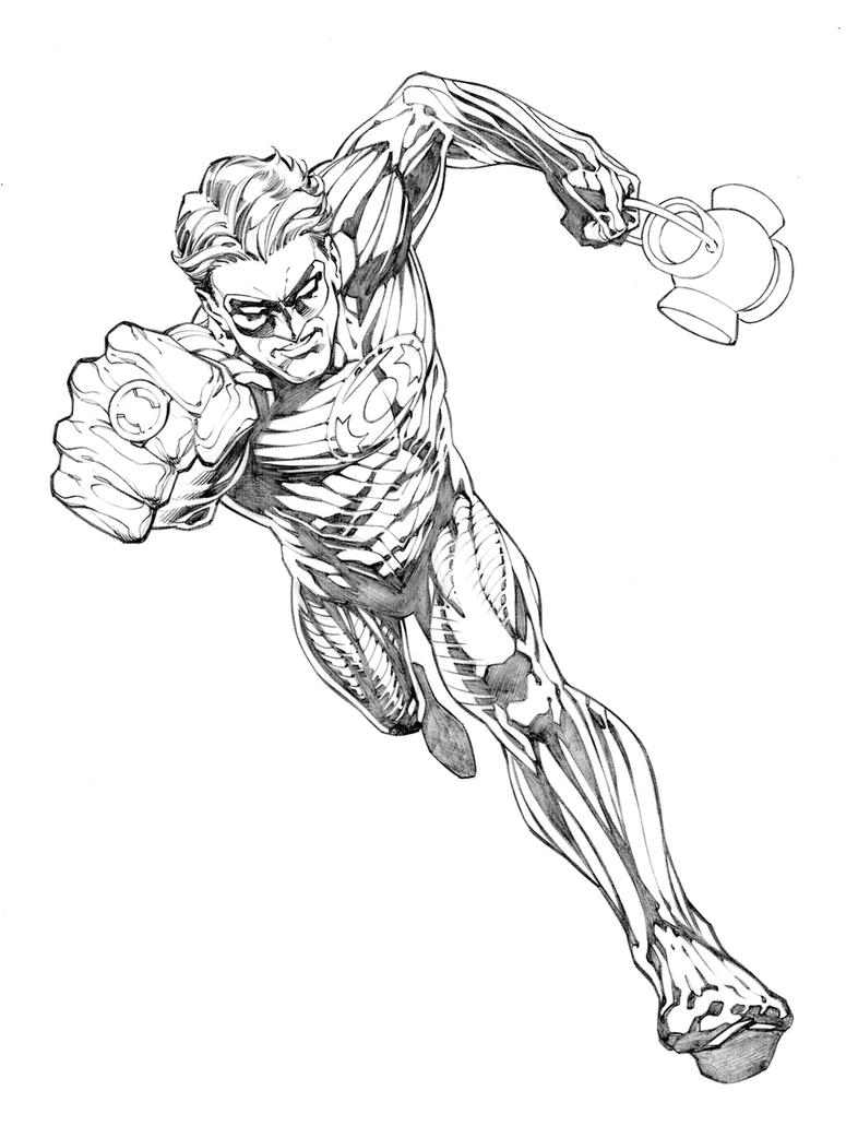 Green Lantern Concept by RandyGreen