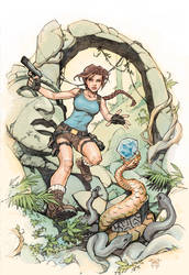 Rise of the Tomb Raider color by RandyGreen