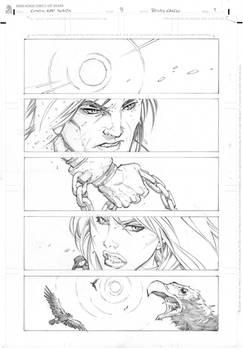 Conan vs Red Sonja page 1